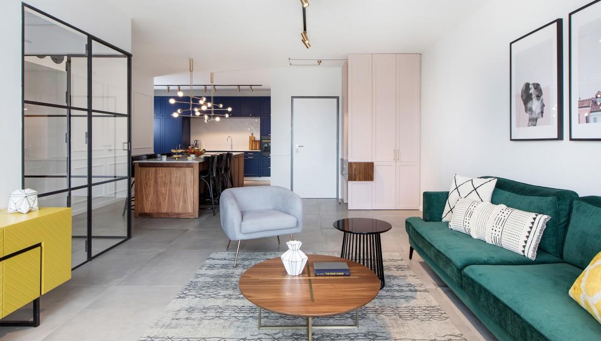 דירה בגני תקווה, עיצוב טוביה פנפיל - 2