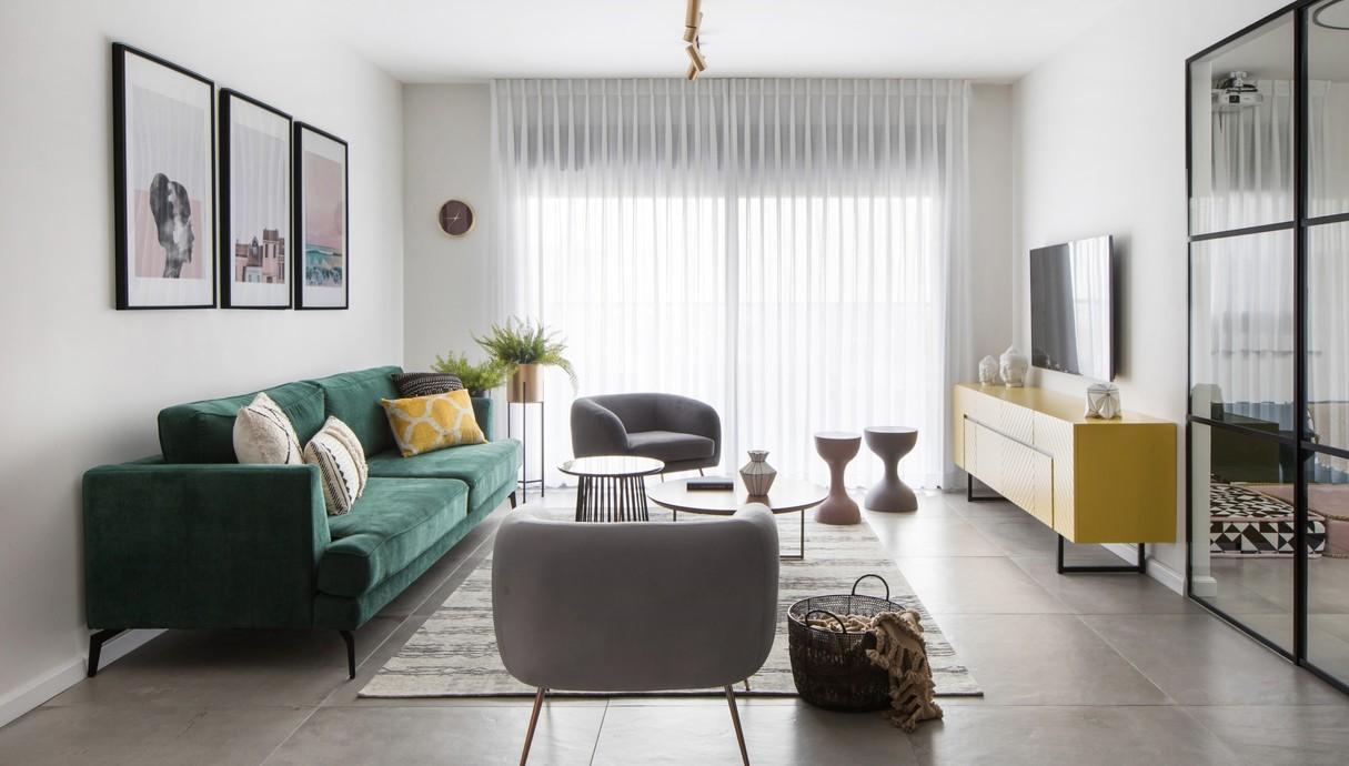 דירה בגני תקווה, עיצוב טוביה פנפיל - 4