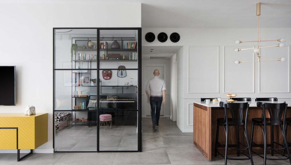 דירה בגני תקווה, עיצוב טוביה פנפיל - 8