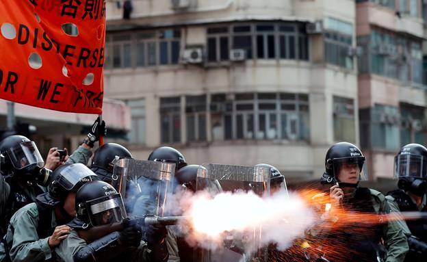 מחאה בהונג קונג