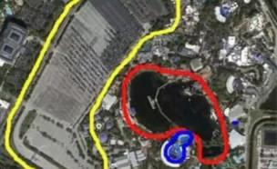 מפה של סי וורלד (צילום: פייסבוק\The Orca Project)