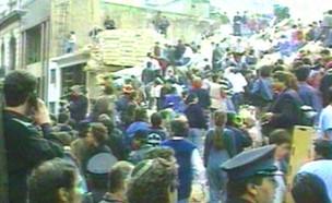 בואנוס איירס, פיגוע, קהילה יהודית (צילום: חדשות 2)