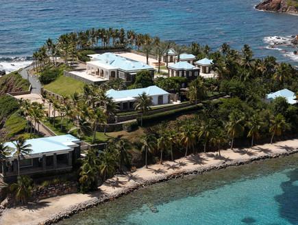 האי שבבעלותו של ג'פרי אפסטין (צילום: רויטרס)