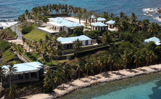 האי הפרטי של ג'פרי אספטין באיי הבתולה (צילום: שי פרנקו, רויטרס)