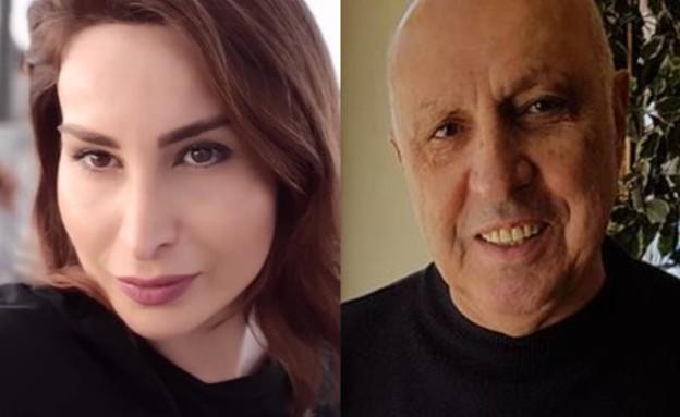 """דוד אגייב ז""""ל ובתו (צילום: מתוך עמוד הפייסבוק של אסתר אגאייב)"""