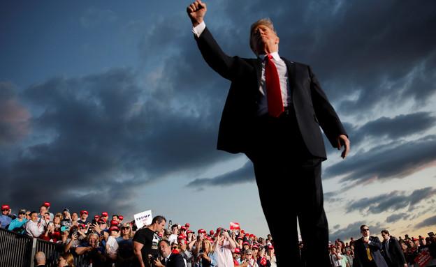 נשיא ארצות הברית דונאלד טראמפ (צילום: רויטרס, שי פרנקו, רויטרס)