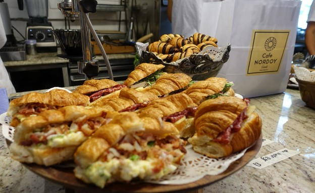נורדיניו קרואסונים  (צילום: ג'רמי יפה, אוכל טוב)