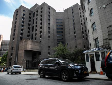 כלא המטרופוליטן בניו יורק מנהטן בו ג'פרי אפסטין הת