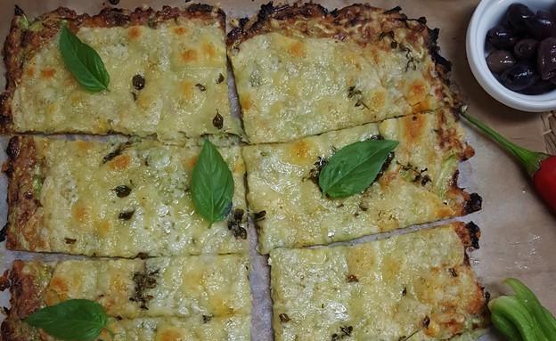 פיצה פשטידה (צילום: רון יוחננוב, אוכל טוב)