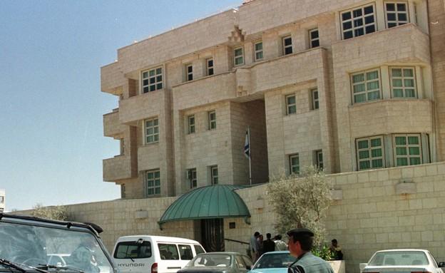 שגרירות ישראל בירדן  (צילום: רויטרס)