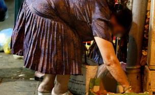 עוני קשישים (צילום: פיטוסי , פלאש 90)