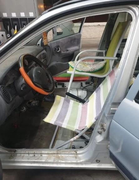 רכב בספרד (צילום: SplToledo/twitter)