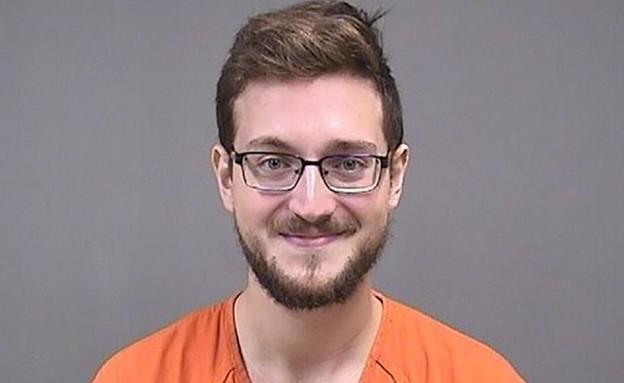 """ג'יימס פטריק רירדון, חשוד שאיים לבצע פיגוע נגד יהודים בארה""""ב (צילום: CNN)"""