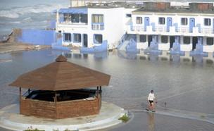 חוף הים בקזבלנקה (צילום: FADEL SENNA/AFP/Getty Images)