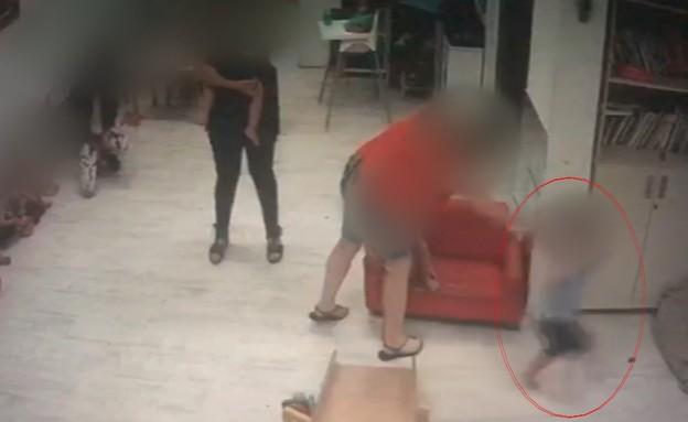 תיעוד חשד להתעללות בפעוטון בתל אביב