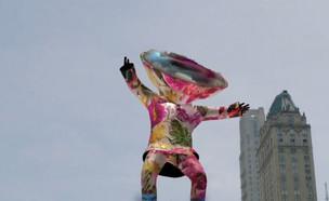 """אומנות בעידן הדיגיטלי (צילום: מתוך """"נקסט"""", קשת 12)"""