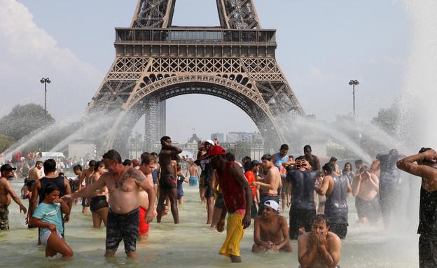 גל חום בפריז, צרפת
