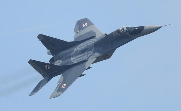 מטוס קרב רוסי (צילום: Sean Gallup/Getty Images)