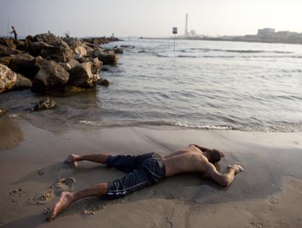 גל חום בתל אביב