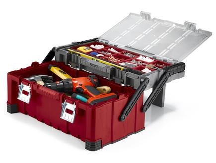 ארגז כלים מדורג של כתר - מחיר 199 שקל (צילום: סטודיו כתר)