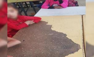 מבנים לא ראויים ללימודים בפזורה הבדואית (צילום: אילן סימן טוב)
