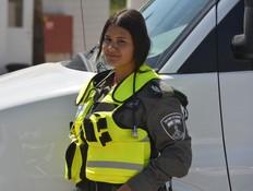 """רס""""ל מירית ראובן (צילום: חטיבת דוברות המשטרה)"""