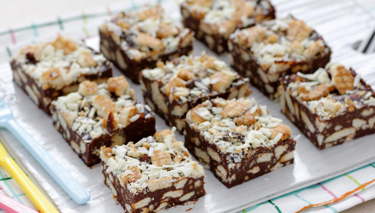 חיתוכיות שוקולד וביסקוויטים (צילום: נטלי לוין, אוכל טוב)