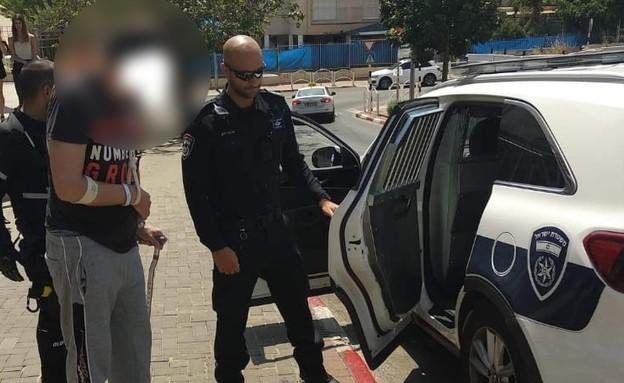 """מעצר יוסף חיים קארו (צילום: ארגון """"לא תשתוק"""")"""