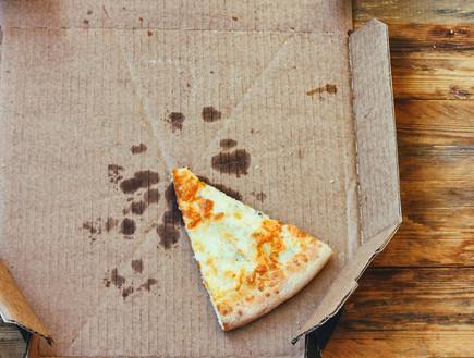 משולש פיצה, שאריות