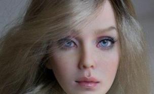 בובה אנושית (צילום: אינסטגרם\lutsenko_dolls)