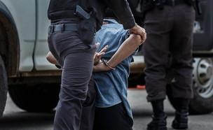 מעצר חשוד (צילום:  none)