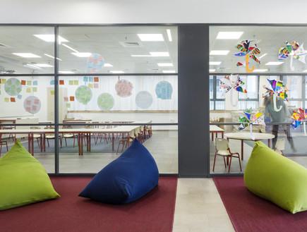 ביתהספר היפים, שוק סיטונאי - 2 (צילום: משרד אליקים אדריכלים)
