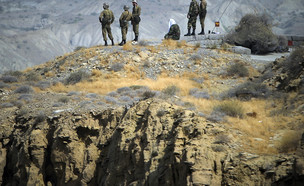 כוחות משמרות המהפיכה האירניים (צילום: רויטרס, שי פרנקו,רויטרס)