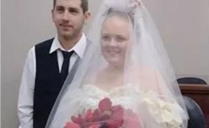התחתנו ומתו (צילום: טוויטר\UK Breaking News)