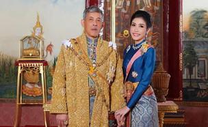 בת לווייתו של מלך תאילנד (צילום: AP)