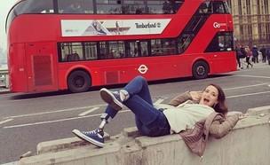 אסתי סגל בלונדון (צילום: אינסטגרם)