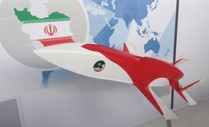 טיל שיוט איראני (צילום: Tasnim News Agency)