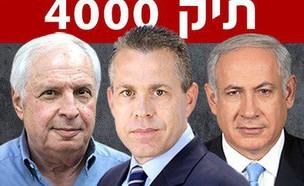 ארדן נתניהו אלוביץ' תיק 4000 בזק יס (צילום: חדשות  12, חדשות 12)