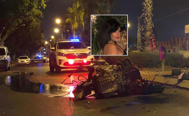 ירין מהול נהרגה בתאונה באשקלון (צילום:  Photo by Flash90)