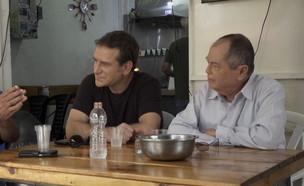 לקראת בחירות - אמנון ודני (צילום: החדשות 12)