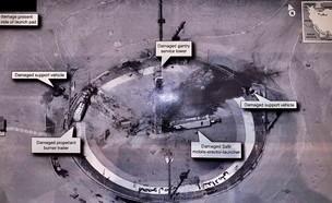 ההרס באתר השיגור האירני