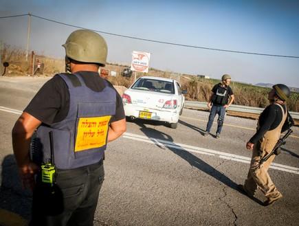"""ירי נ""""ט משטח לבנון לעבר שטח ישראל  (צילום: דוד כהן, פלאש 90)"""