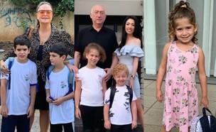 ילדי הסלבס מגיעים לבתי הספר, ספטמבר 2019 (צילום: מתוך האינסטגרם של אופירה אסייג, ליהיא גרינר וניקול ראידמן)