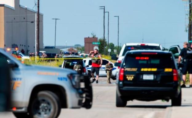 אירוע הירי ההמוני בטקסס (צילום: CNN)