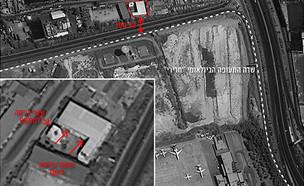 אתר טילים ליד שדה התעופה (צילום: דובר צהל, חדשות)