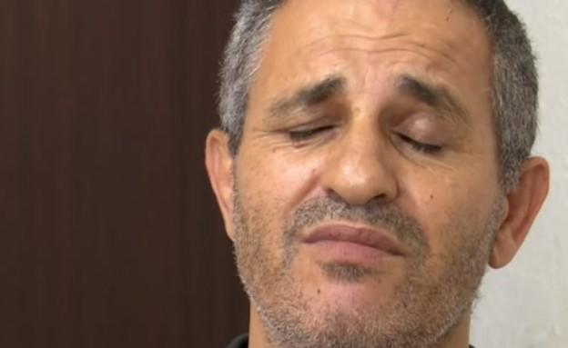 האב שאיבד את שתי בנותיו בתאונה באשקלון מדבר (צילום: חדשות)