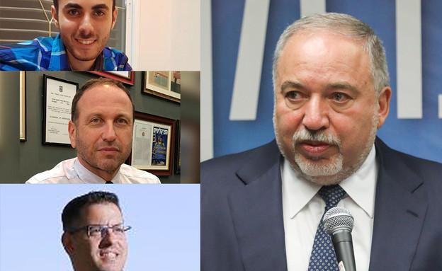 התומכים החדשים של ליברמן  (צילום: יונתן זינדל פלאש 90, יונתן זינדל, פלאש 90)