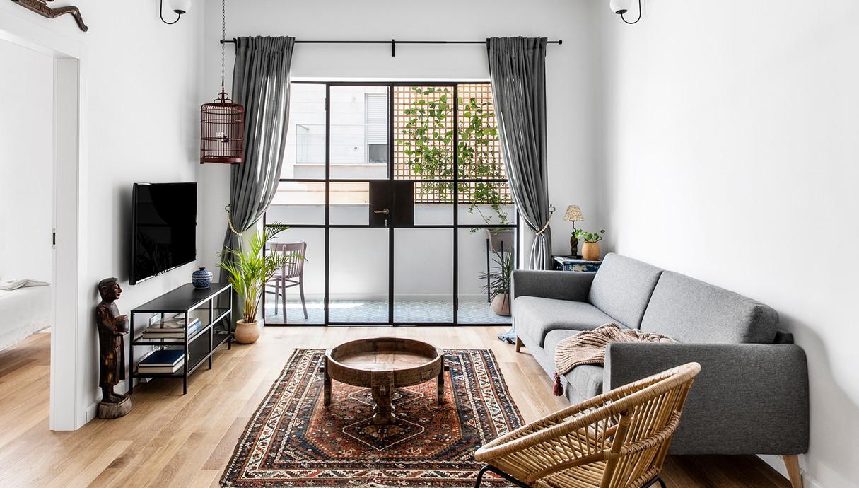 בתים מבפנים 2019, בן יהודה, עיצוב דנה ברוזה - 6