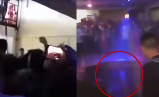 אסון במועדון בקולומביה (צילום: Anthony Mooney, shutterstock, צילום מסך)
