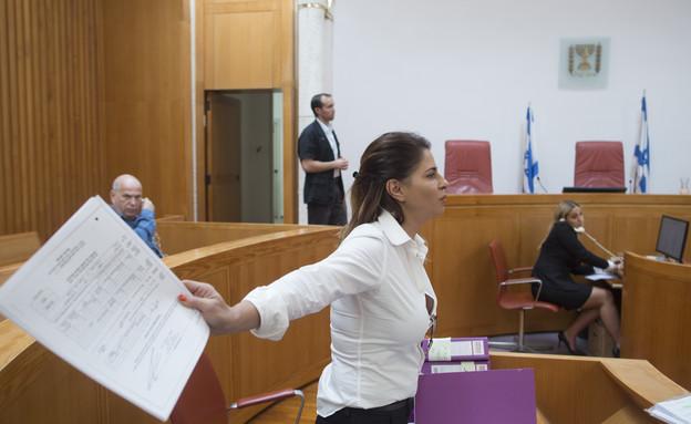 ענבל אור בבית המשפט, ארכיון (צילום: פלאש 90)